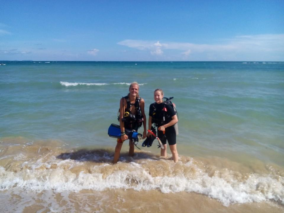 beach-training-open-water
